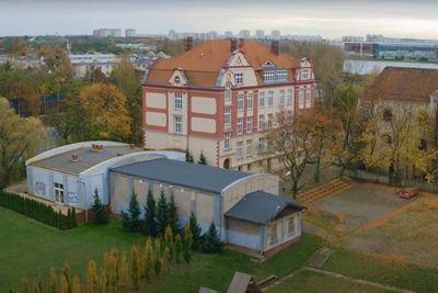 budynki Ośrodka dla Dzieci Niesłyszących w Poznaniu